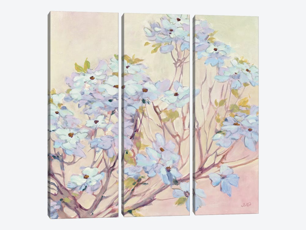 Spring Dogwood II by Julia Purinton 3-piece Canvas Art Print