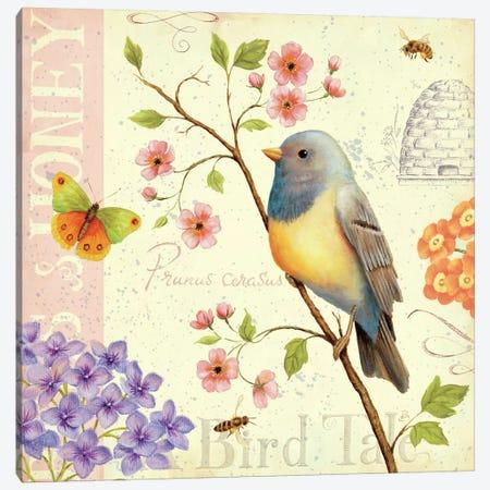 Birds and Bees I  Canvas Print #WAC388} by Daphne Brissonnet Canvas Art Print