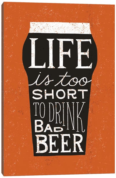Craft Beer I Canvas Art Print