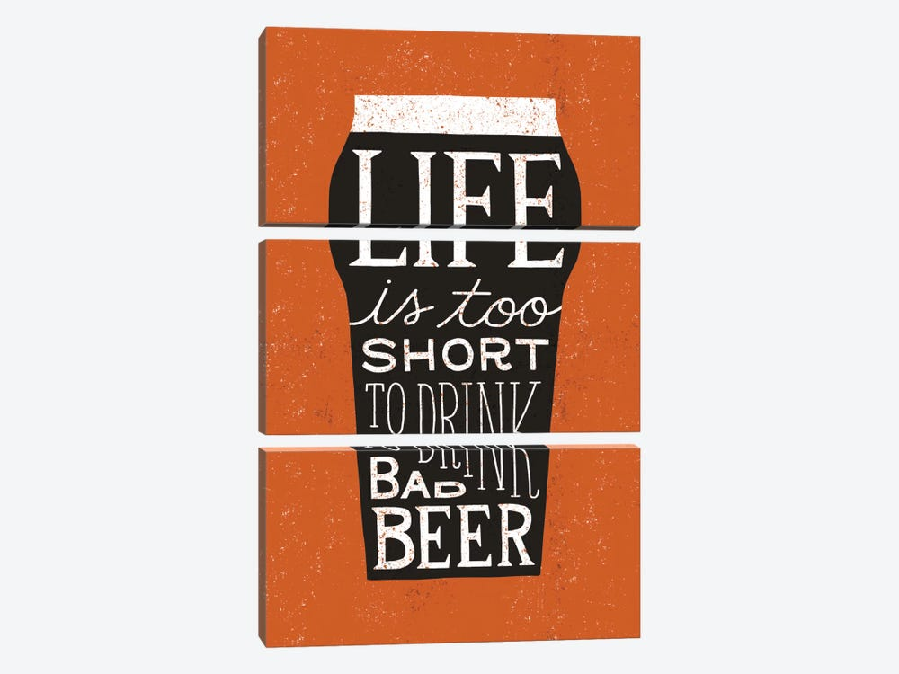 Craft Beer I by Michael Mullan 3-piece Canvas Artwork