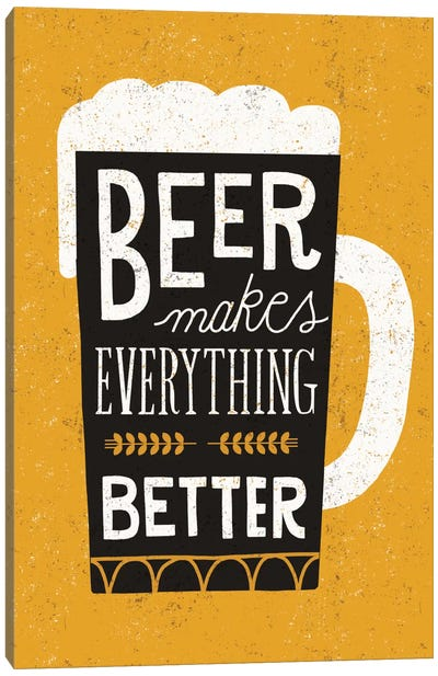 Craft Beer II Canvas Art Print