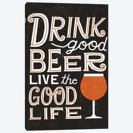 Craft Beer III Canvas Print #WAC3898} by Michael Mullan Canvas Print