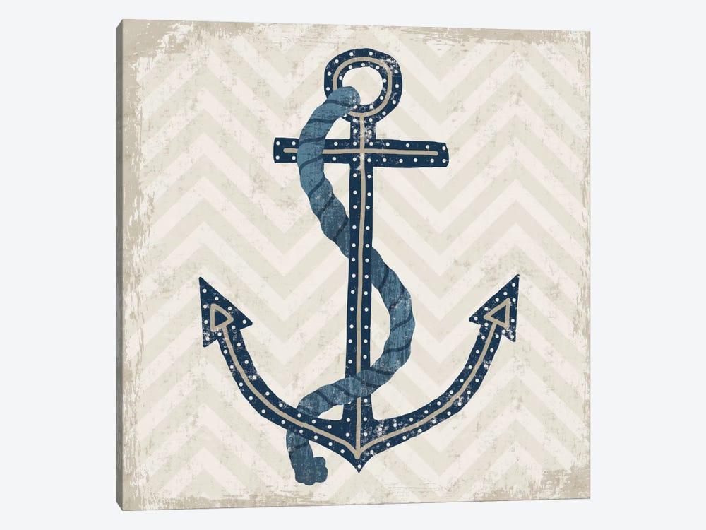 Nautical Anchor by Michael Mullan 1-piece Art Print