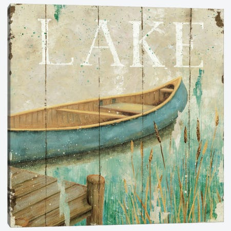 Waterside I  Canvas Print #WAC390} by Daphne Brissonnet Canvas Wall Art