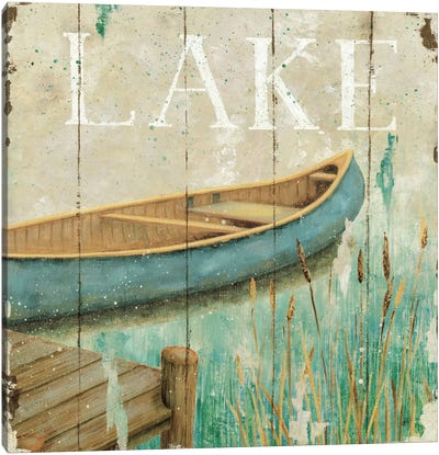 Waterside I  Canvas Art Print