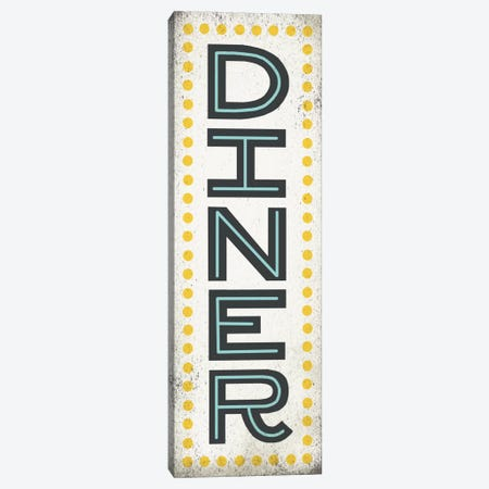 Retro Diner (Diner Sign) Canvas Print #WAC3917} by Michael Mullan Canvas Print