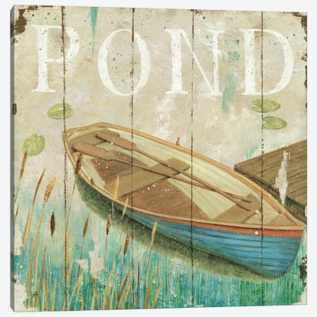 Waterside II  Canvas Print #WAC391} by Daphne Brissonnet Canvas Artwork