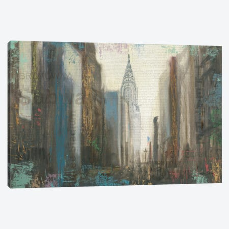 Urban Movement I (NYC) Canvas Print #WAC3929} by Myles Sullivan Canvas Print