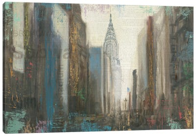 Urban Movement I (NYC) Canvas Print #WAC3929