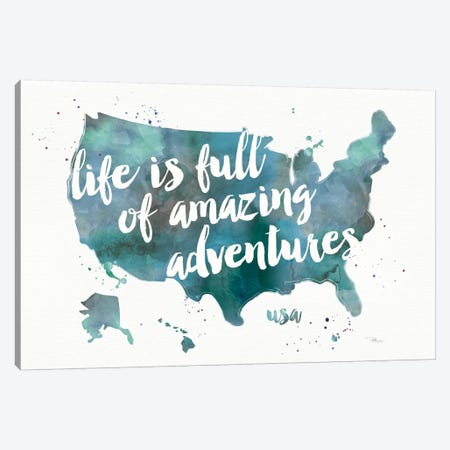 Adventures I Canvas Print #WAC3930} by Pela Studio Canvas Artwork