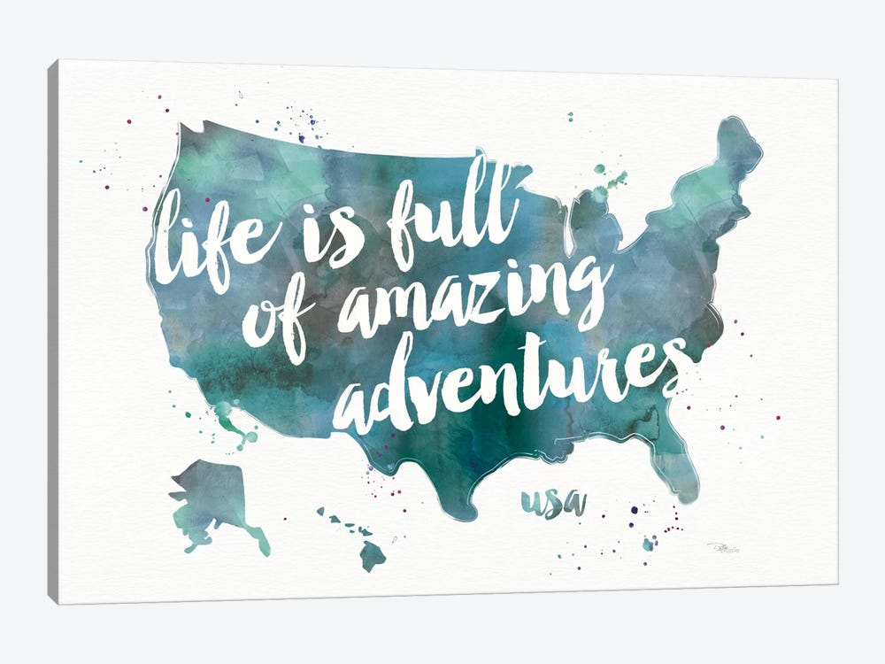 Adventures I 1-piece Canvas Art Print