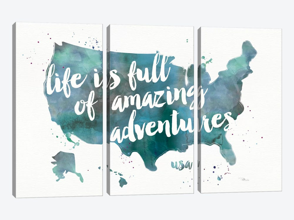 Adventures I by Pela Studio 3-piece Art Print
