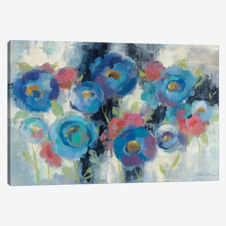 Day and Night Florals I Canvas Print #WAC3937} by Silvia Vassileva Canvas Art Print
