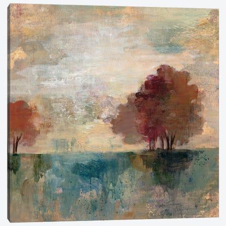 Landscape Monotype I Canvas Print #WAC3939} by Silvia Vassileva Canvas Artwork