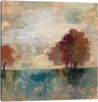Landscape Monotype I Canvas Print #WAC3939