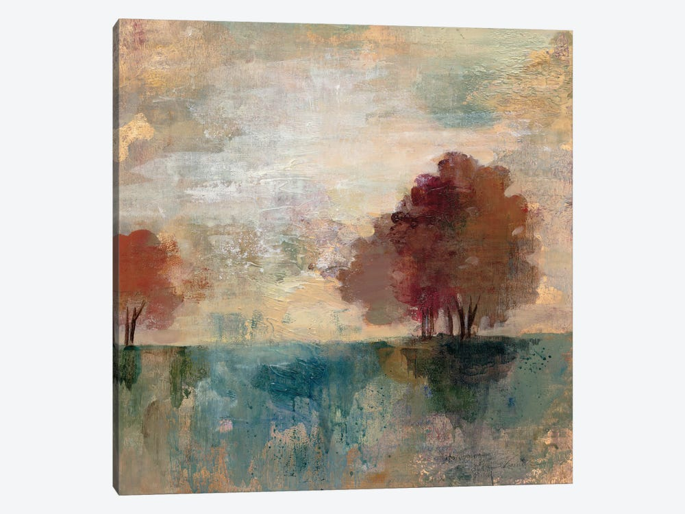 Landscape Monotype I by Silvia Vassileva 1-piece Canvas Art