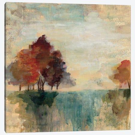 Landscape Monotype II Canvas Print #WAC3940} by Silvia Vassileva Canvas Print