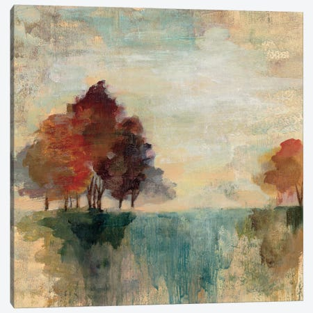 Landscape Monotype II Canvas Print #WAC3940} by Silvia Vassileva Canvas Print