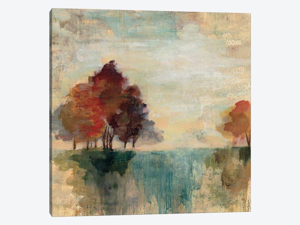 Landscape Monotype II by Silvia Vassileva 1-piece Canvas Art