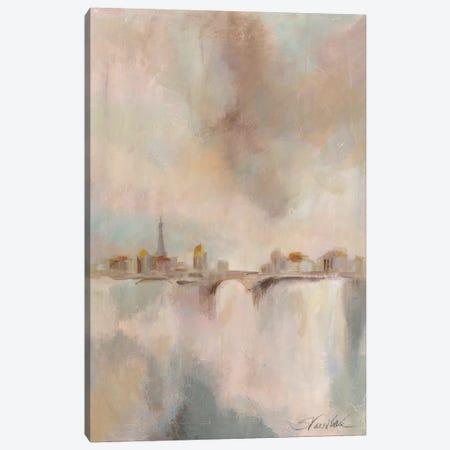 Paris Morning Mist I Canvas Print #WAC3941} by Silvia Vassileva Art Print