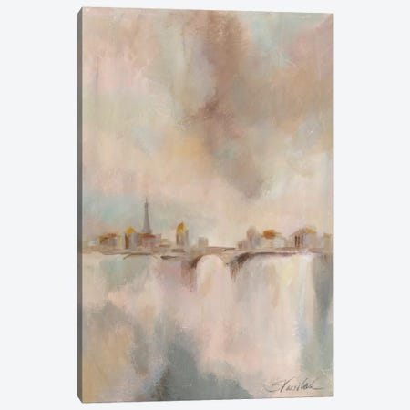 Paris Morning Mist I Canvas Print #WAC3941} by Silvia Vassileva Art Print