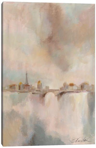 Paris Morning Mist I Canvas Print #WAC3941