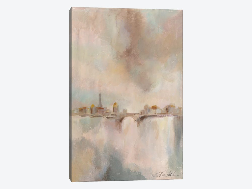 Paris Morning Mist I by Silvia Vassileva 1-piece Art Print