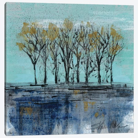 Trees at Dawn I Canvas Print #WAC3943} by Silvia Vassileva Art Print