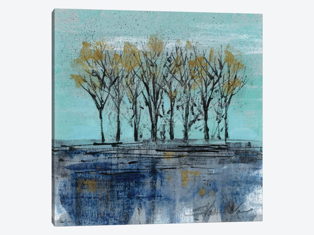 Trees at Dawn I by Silvia Vassileva 1-piece Art Print