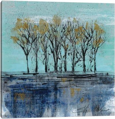 Trees at Dawn I Canvas Art Print
