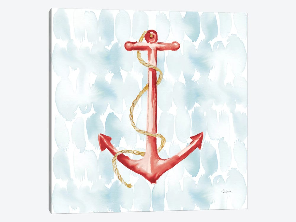 Anchor Dots I by Sue Schlabach 1-piece Canvas Print