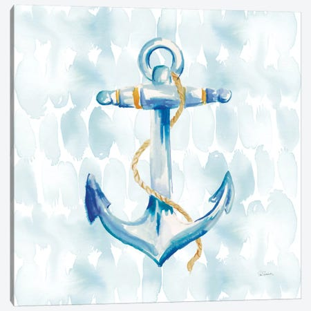Anchor Dots II Canvas Print #WAC3946} by Sue Schlabach Canvas Wall Art