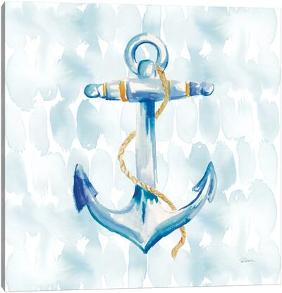 Anchor Dots II Canvas Art Print