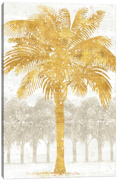 Palm Coast II Canvas Art Print