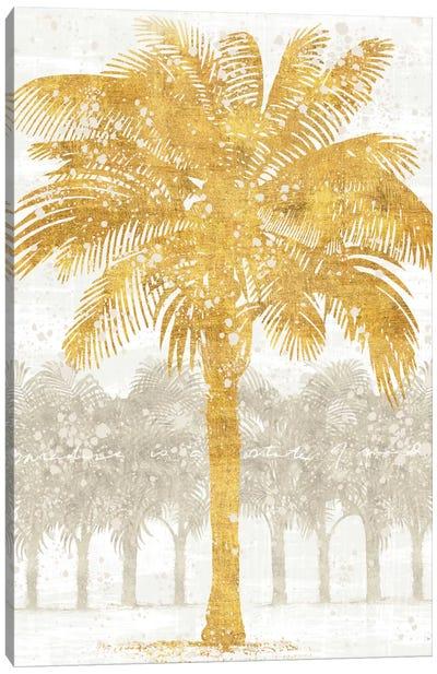 Palm Coast II Canvas Art Print