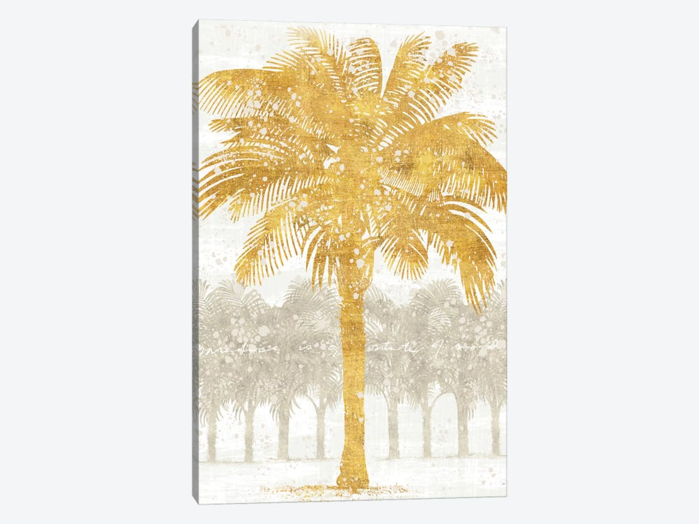Palm Coast II by Sue Schlabach 1-piece Canvas Print