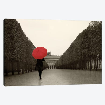 Paris Stroll I Canvas Print #WAC3957} by Sue Schlabach Canvas Art Print