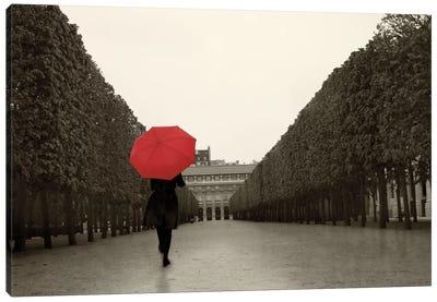 Paris Stroll I Canvas Art Print
