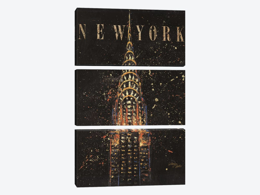 Cities at Night II by Wellington Studio 3-piece Canvas Wall Art