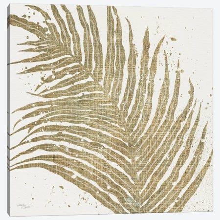 Gold Leaves I Canvas Print #WAC3967} by Wellington Studio Canvas Art