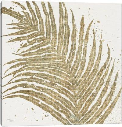 Gold Leaves I Canvas Print #WAC3967