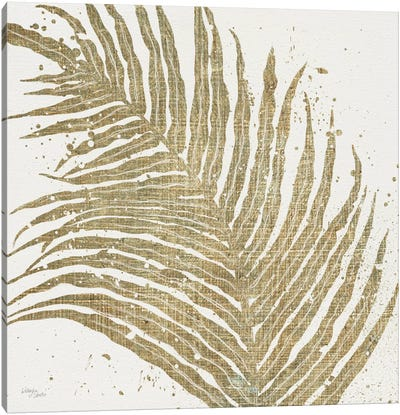 Gold Leaves I Canvas Art Print