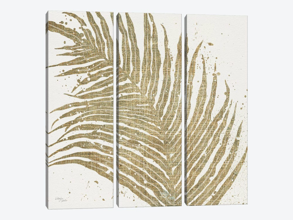 Gold Leaves I by Wellington Studio 3-piece Canvas Print