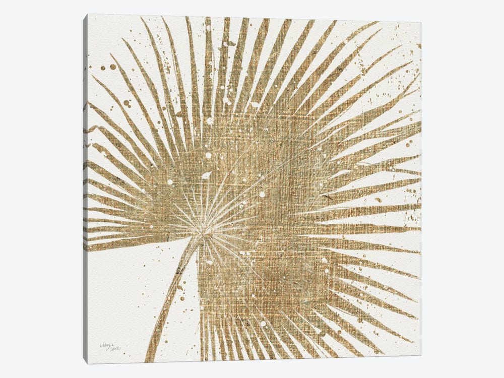 Gold Leaves II by Wellington Studio 1-piece Canvas Art