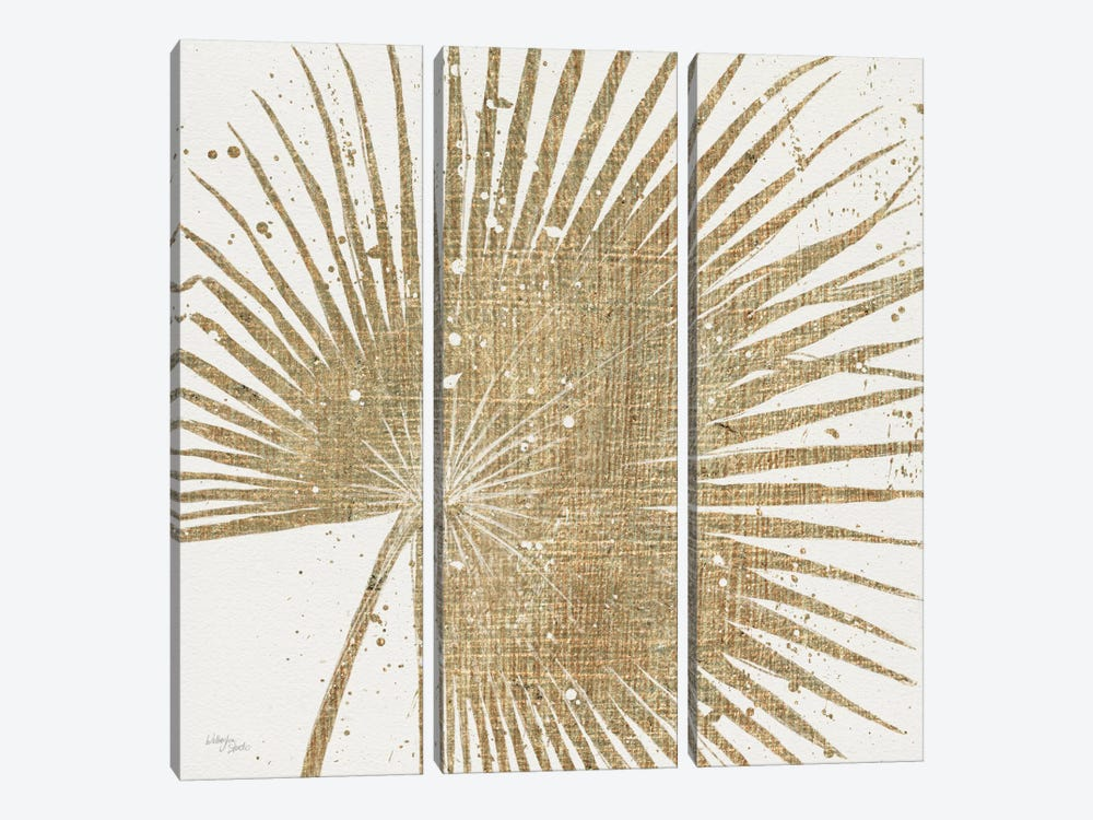 Gold Leaves II by Wellington Studio 3-piece Canvas Art