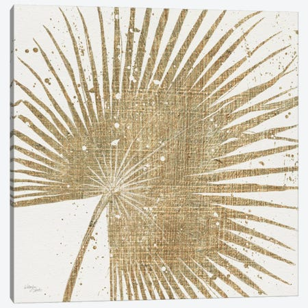 Gold Leaves II Canvas Print #WAC3968} by Wellington Studio Canvas Print
