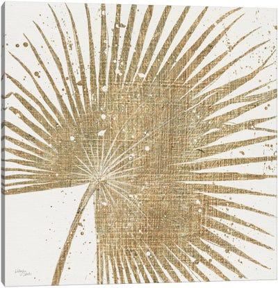 Gold Leaves II Canvas Art Print