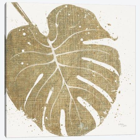 Gold Leaves III Canvas Print #WAC3969} by Wellington Studio Canvas Art Print