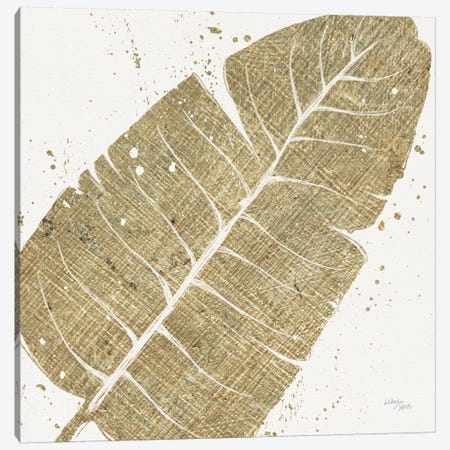 Gold Leaves IV Canvas Print #WAC3970} by Wellington Studio Canvas Artwork
