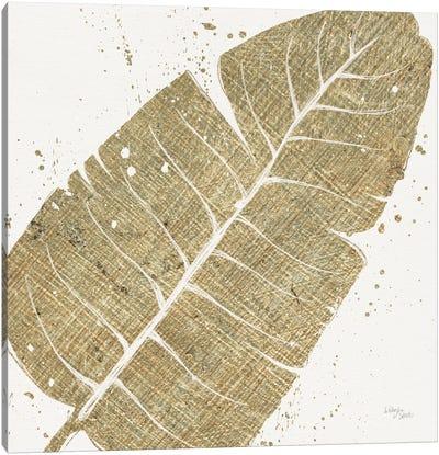 Gold Leaves IV Canvas Print #WAC3970